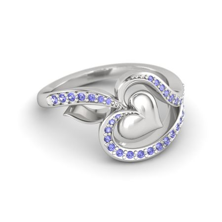 My Heart in Spades Ring