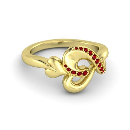Heart's Serenade Ring