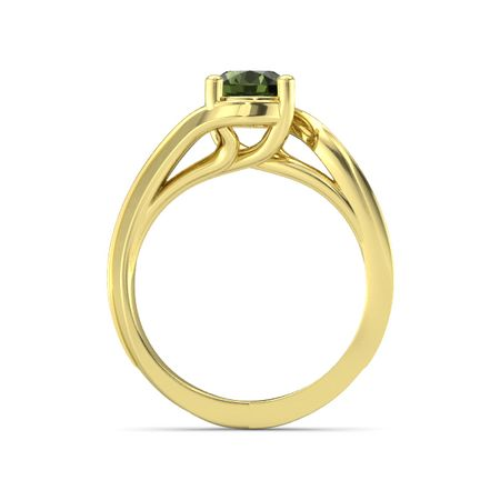 Current Solitaire Ring