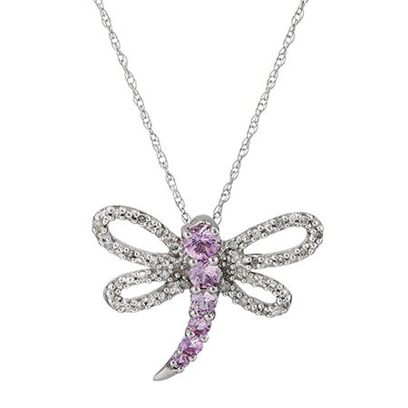 38 ct natural pink sapphire 110 ct diamond dragonfly pendant in 38 ct pink sapphire 110 ct diamond dragonfly pendant mozeypictures