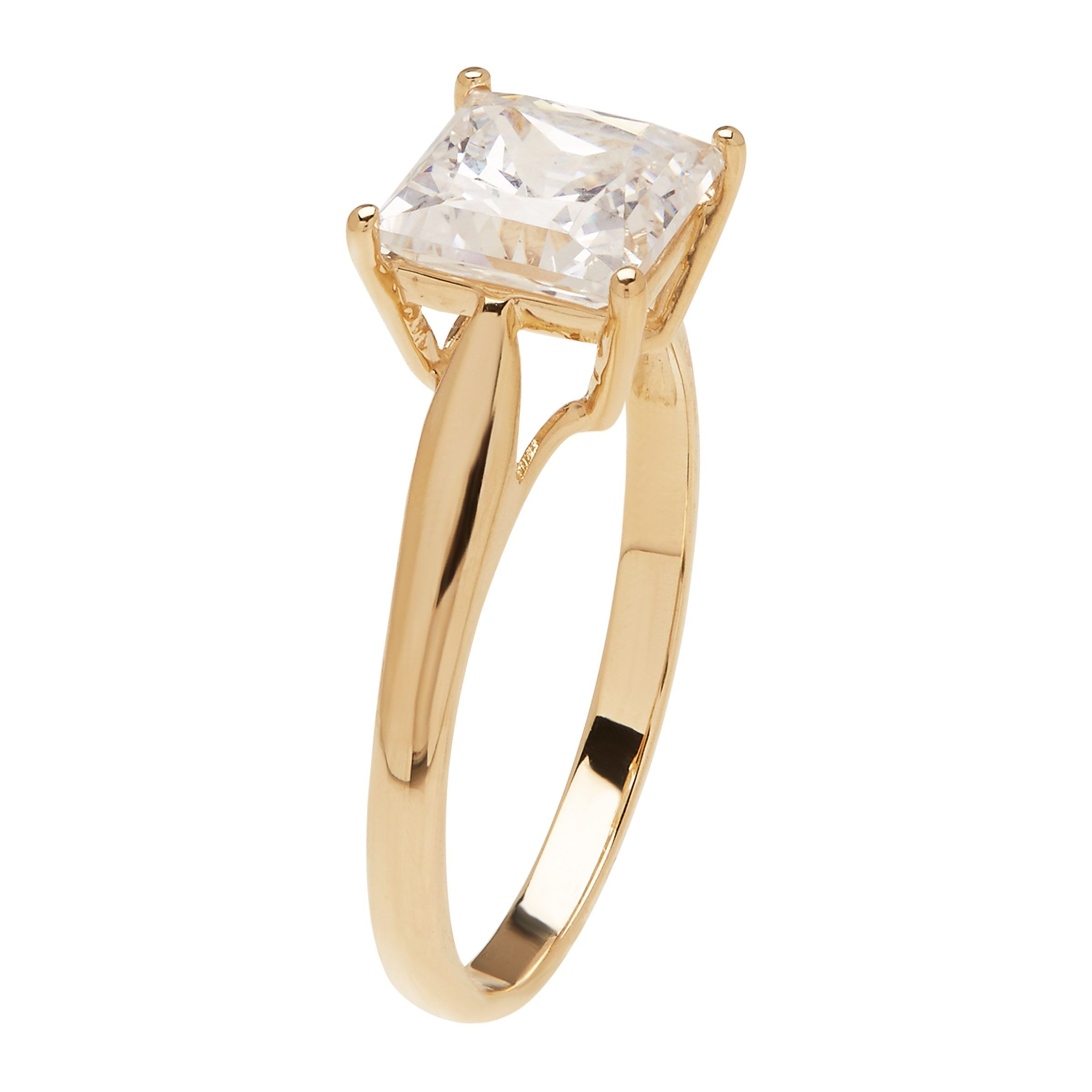 rings gold diamond ring in white tw engagement