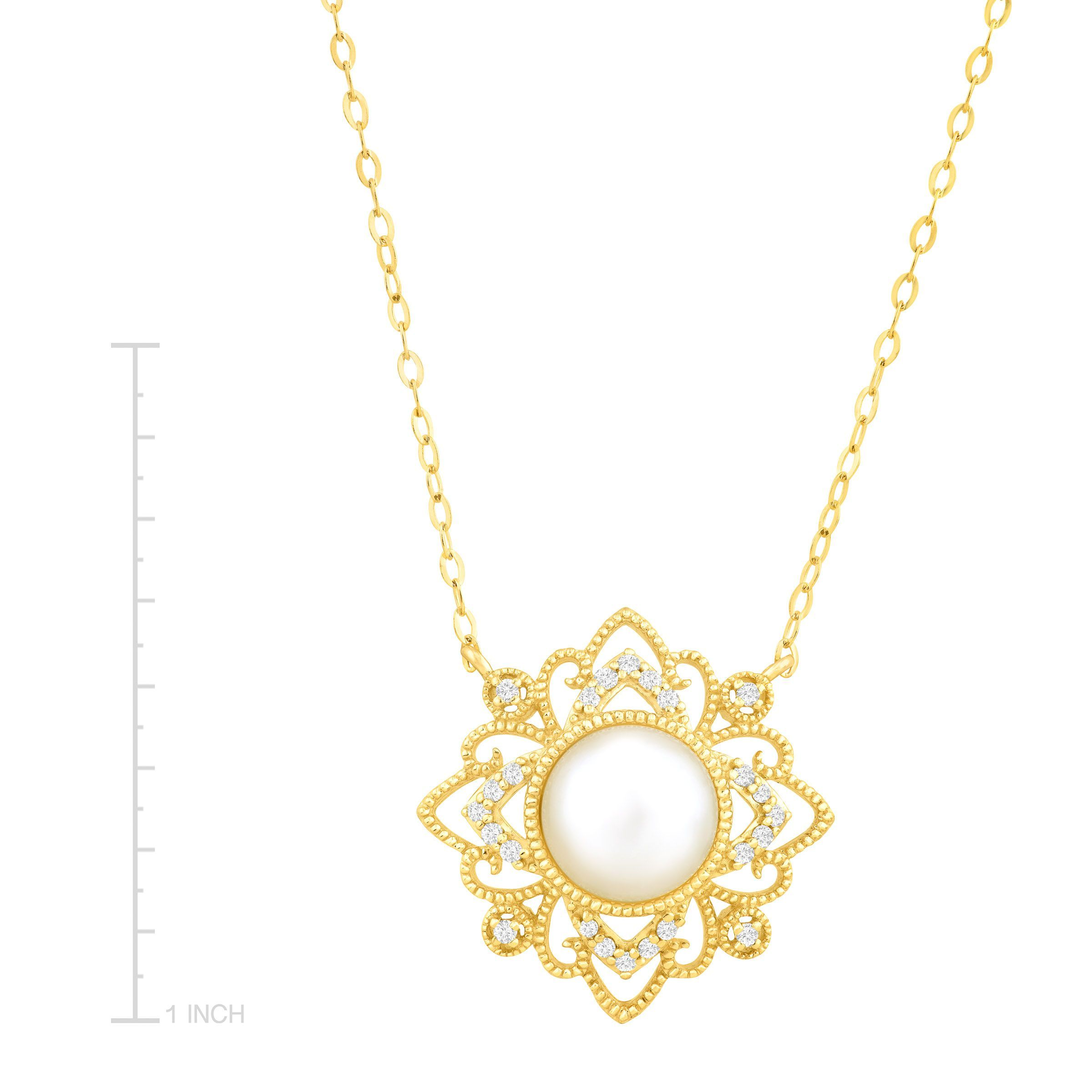 charm white diamore circle page necklace pendent diamond pendant shape centres gold