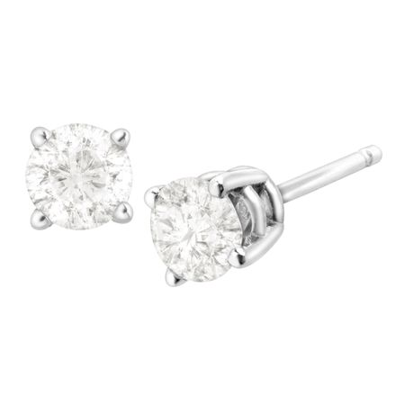1/2 ct Diamond Stud Earrings