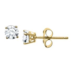 3/8 ct Diamond Stud Earrings