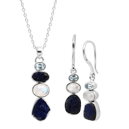 Pacific Pendant & Earrings Set