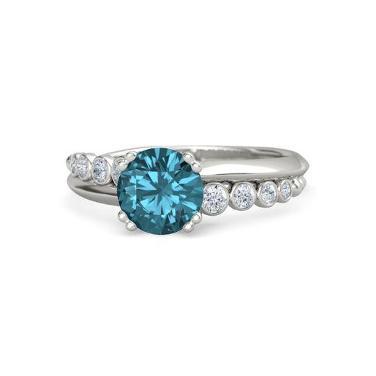 London Blue Topaz Wedding Ring Sets Rings Gemvara