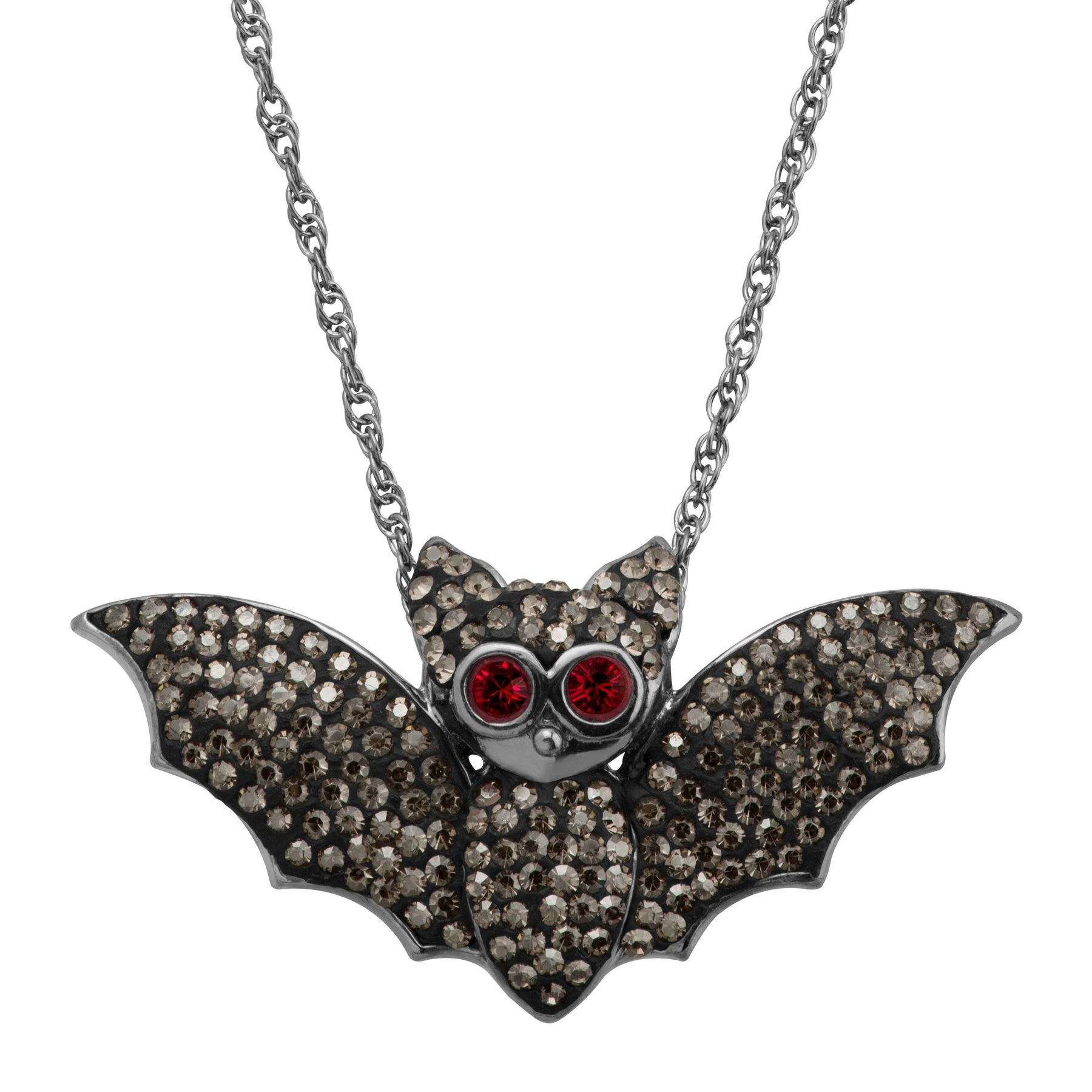 small in pendant products silver necklace vampire jewellery bat