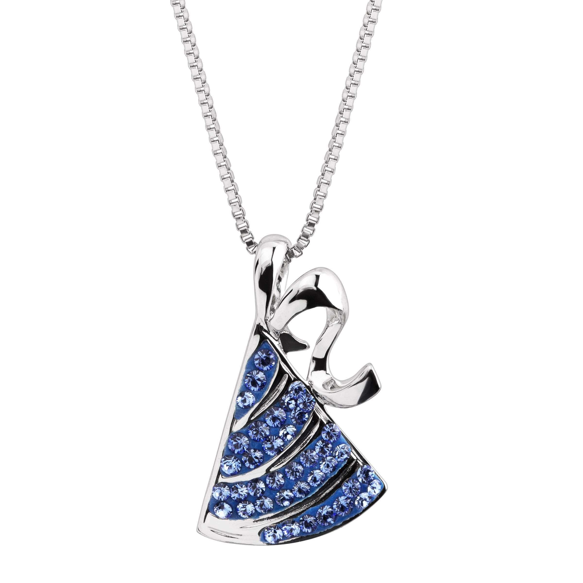 dd95584be Details about Crystaluxe Party Hat Pendant with Swarovski Crystals in  Sterling Silver
