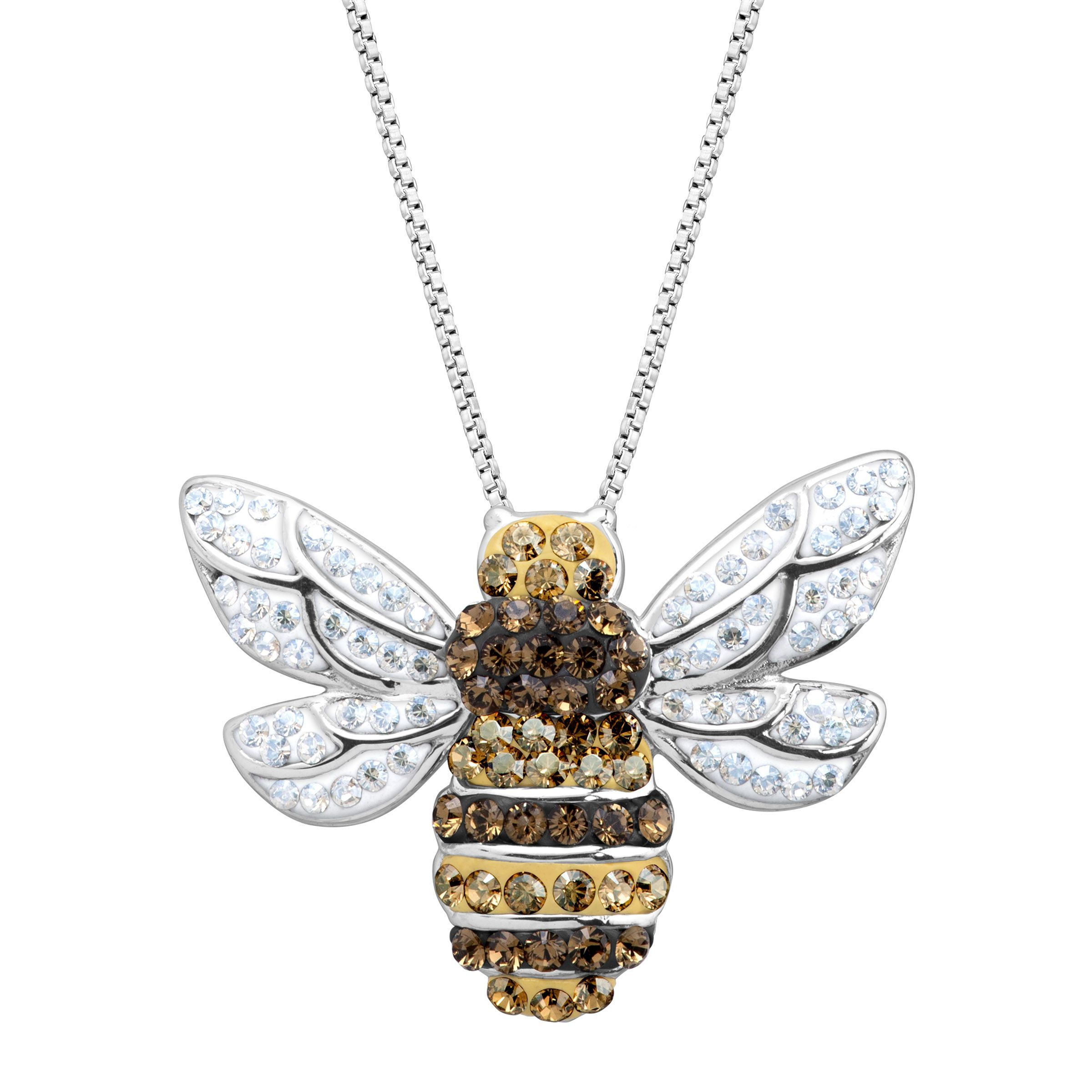 collection silver bumblebee hive bumble honey products bee pendant sterling jewellery hart img
