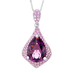 Pendant with Swarovski Crystals