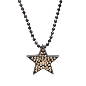 Star Pendant with Swarovski Crystals
