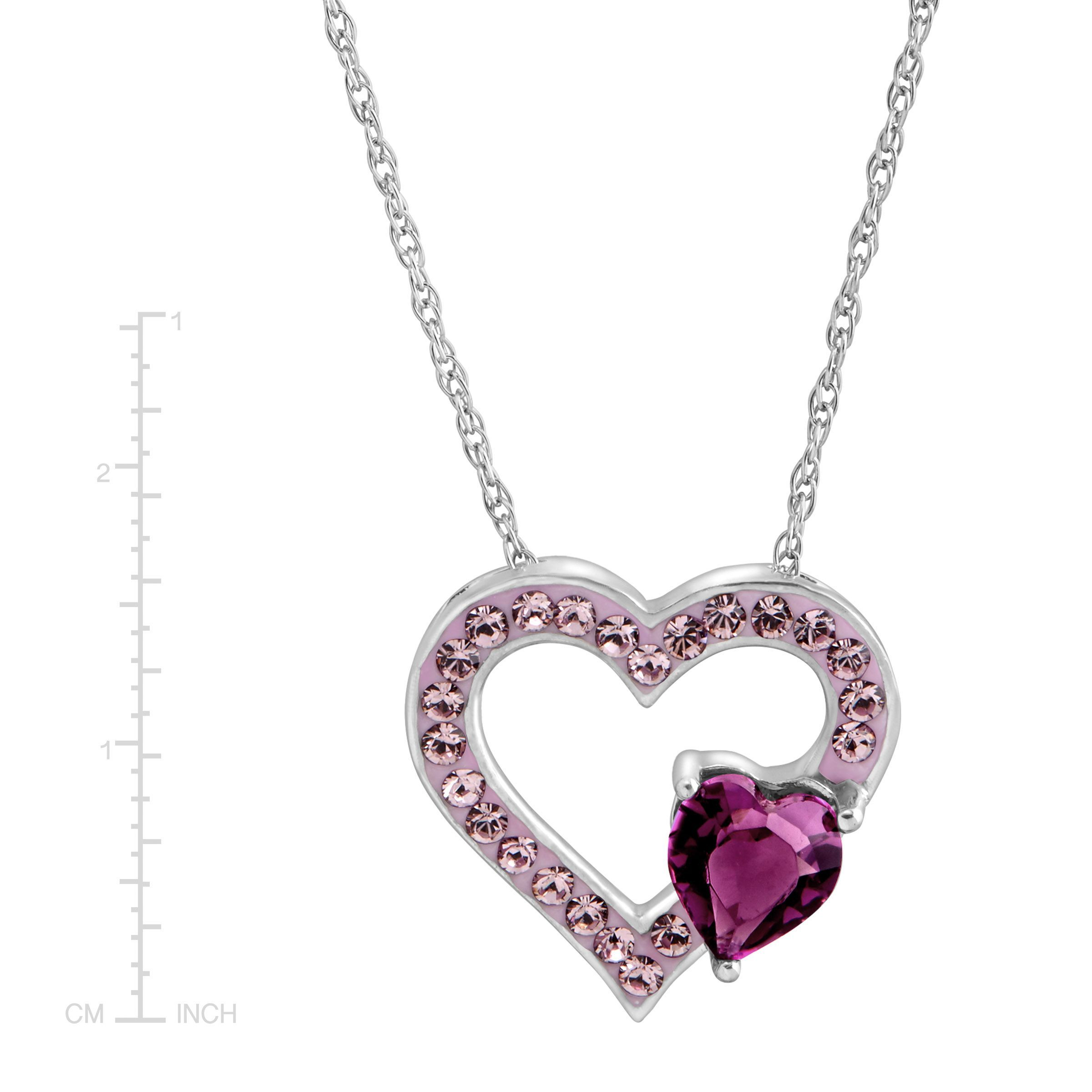 heart fifth necklace products hand tiffany co open collection lariat second the