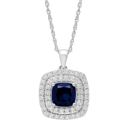 in sapphire with carat sterling ruby chain and silver pendant products white