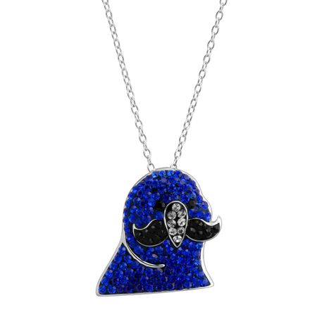 a8de4aa6f Crystaluxe Mustache Party Parrot Pendant with Swarovski Crystals in ...
