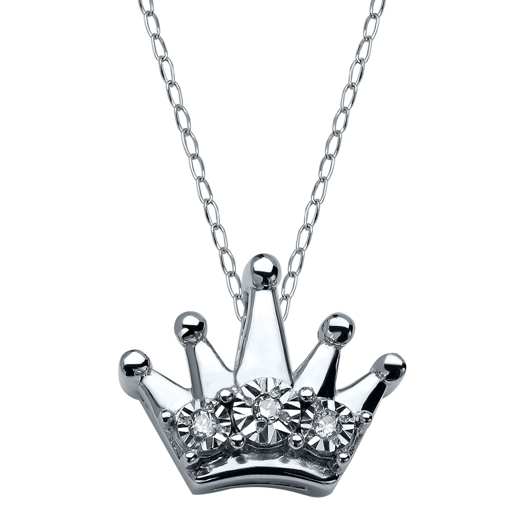 zoe usa crown products belle little pendant necklace