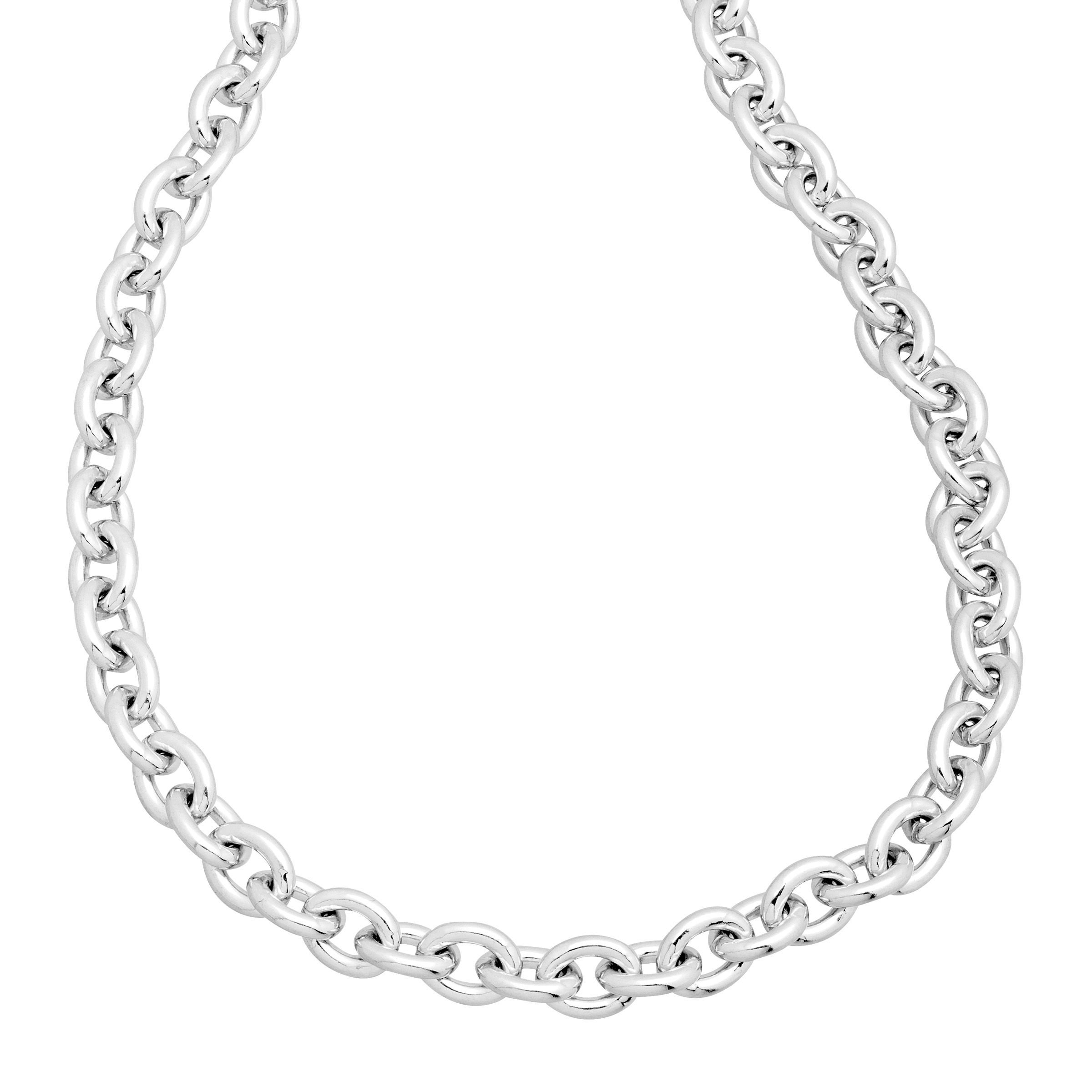 chain necklace pendant plated silver itm jewelry design girls new chains circle or gold womens