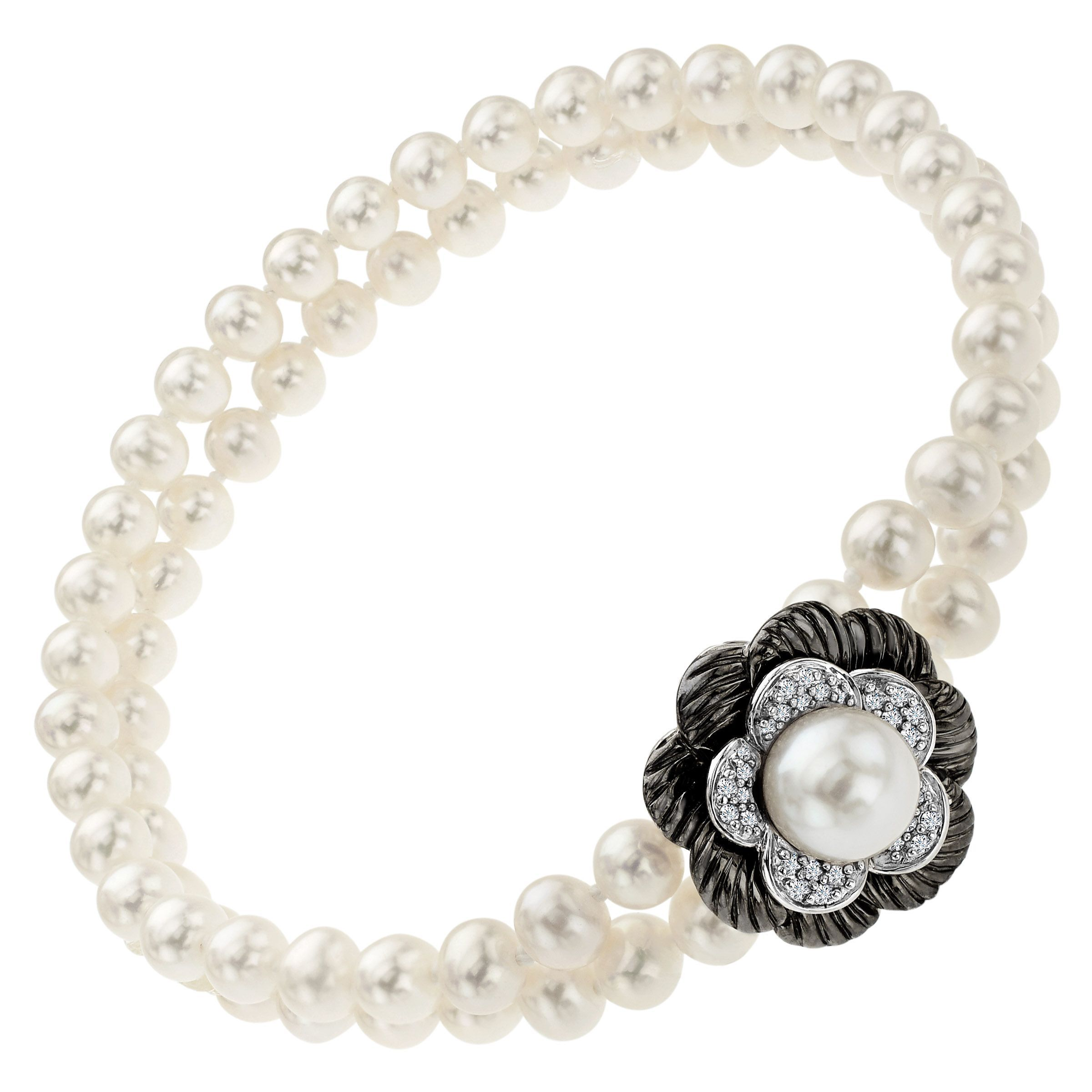 jewelry pearls freshwater free today of cascades thailand handmade necklace product overstock shipping classy watches
