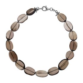 49 ct Smoky Quartz Bracelet
