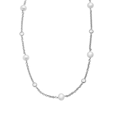 necklace w heart carat g white tone women miabella sterling sapphire created silver t interlocking s pendant two ip