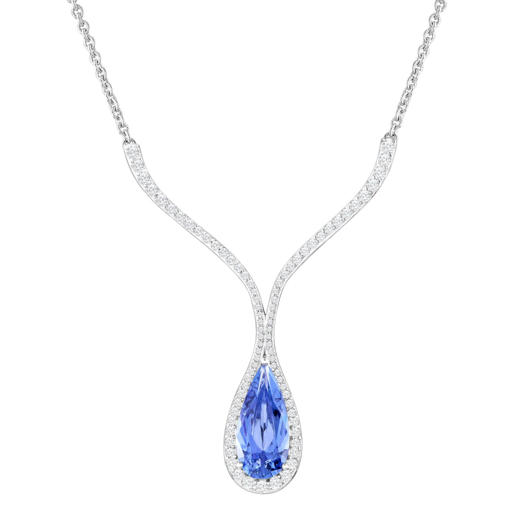 product jewelry in zirconia clear metallic lyst necklace nadri normal pendant gallery cubic