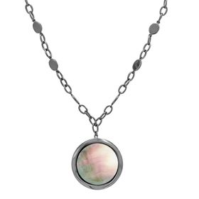Black Mother-of-Pearl Pendant