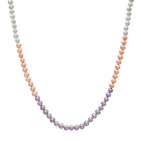 4.5-5 mm Rose & Lilac Ombré Pearl Strand
