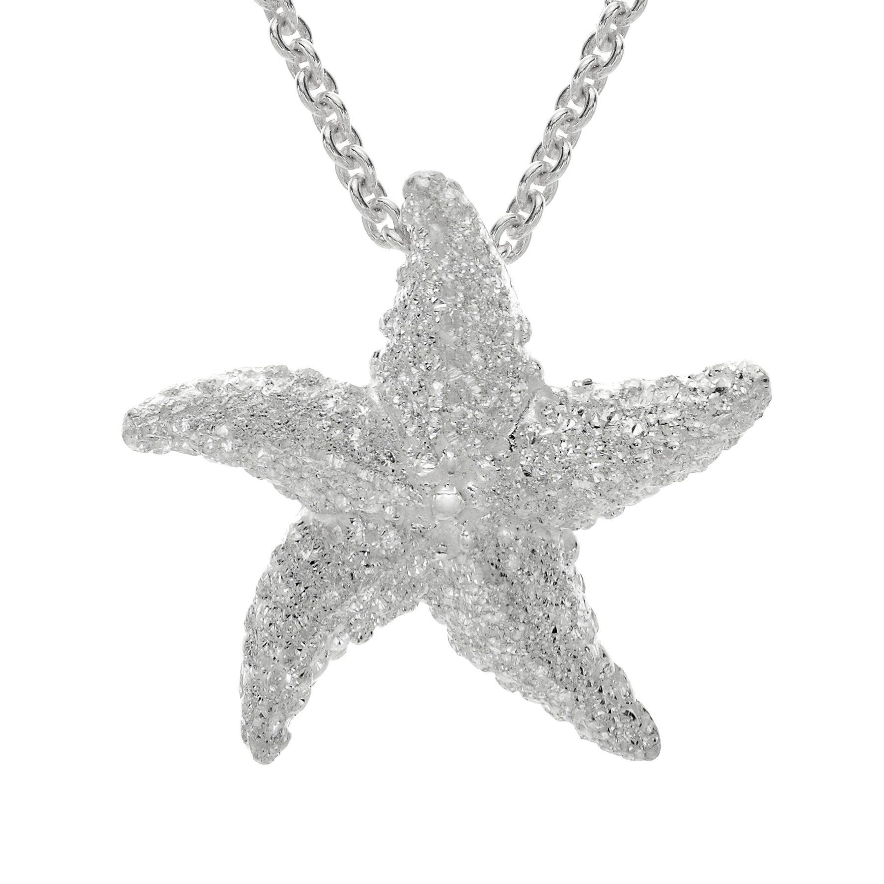 Kabana small starfish pendant in sterling silver small starfish small starfish pendant aloadofball Choice Image