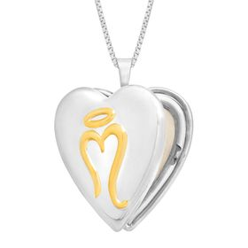 Miracle Heart Locket Pendant