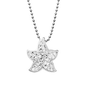 Jewelry jewelry starfish pendant with swarovski crystals aloadofball Image collections