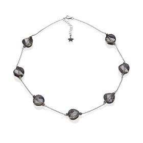 Swarovski Crystals Station Necklace