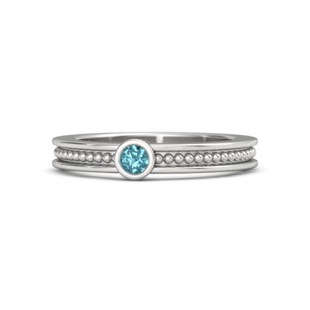 Mother's Gift Ring With One Gem