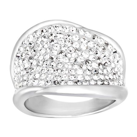 35b72440b4d04 Crystaluxe Ring with Swarovski Crystals in Sterling Silver