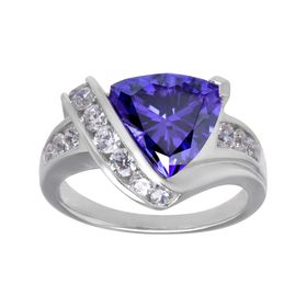 Ring with Swarovski Zirconia