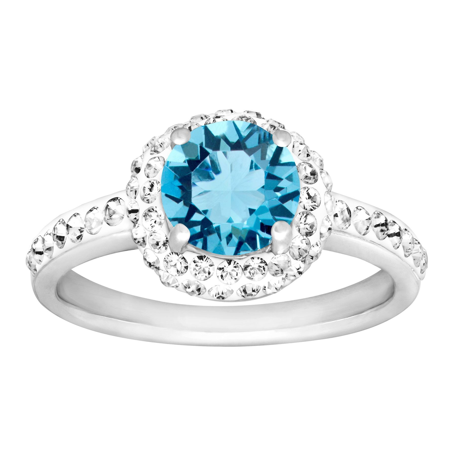 in march aquamarine halo ring custom jewelry los the engagement birthstone unique rings concierge diamonds angeles