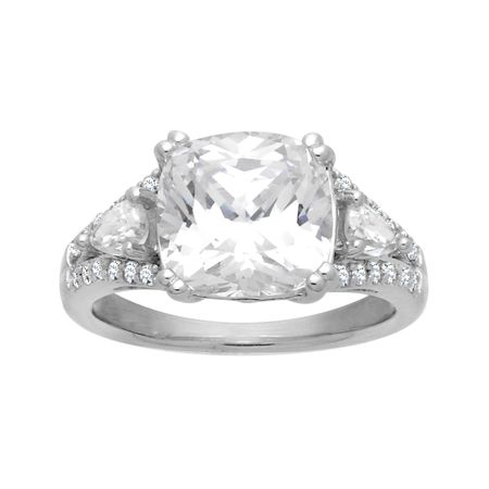 dabaf5c41 Ring with 9 5/8 ct Swarovski Zirconia in Sterling Silver | Ring with ...