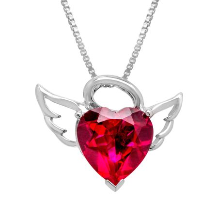 4 58 ct ruby angel heart pendant in sterling silver 4 58 ct ruby 4 58 ct ruby angel heart pendant aloadofball Choice Image