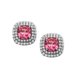 Stud Earrings with Swarovski Zirconia