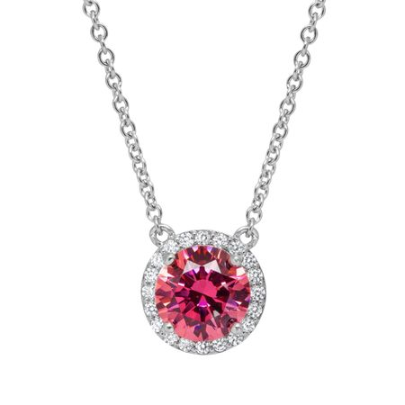 Necklace with Swarovski Zirconia