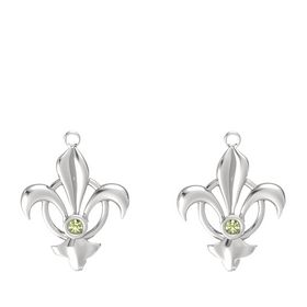 Sterling Silver Earring with Peridot