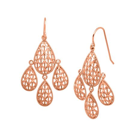 Chandelier Mesh Earrings