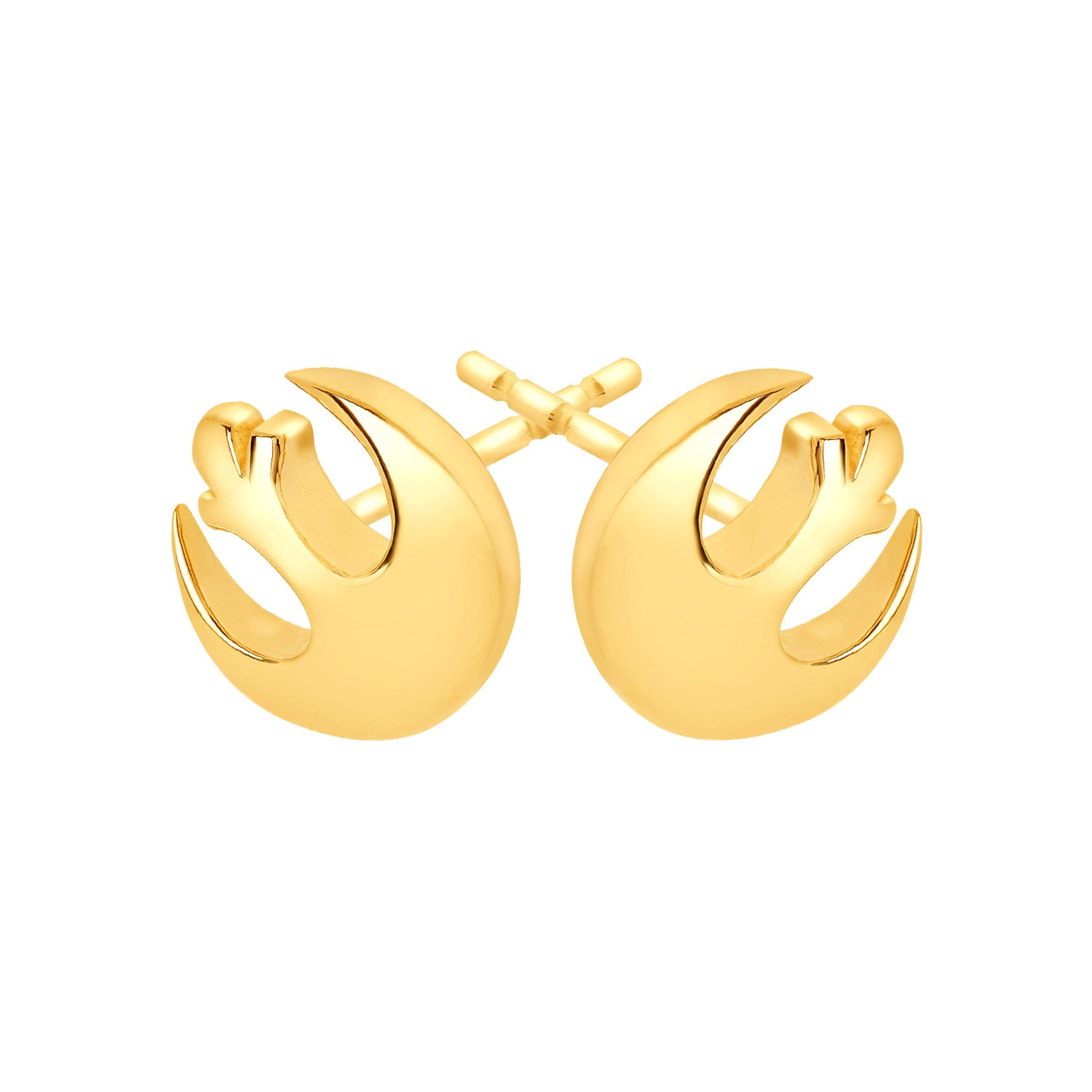 pin stud yellow size earrings frog frogs women gold small s