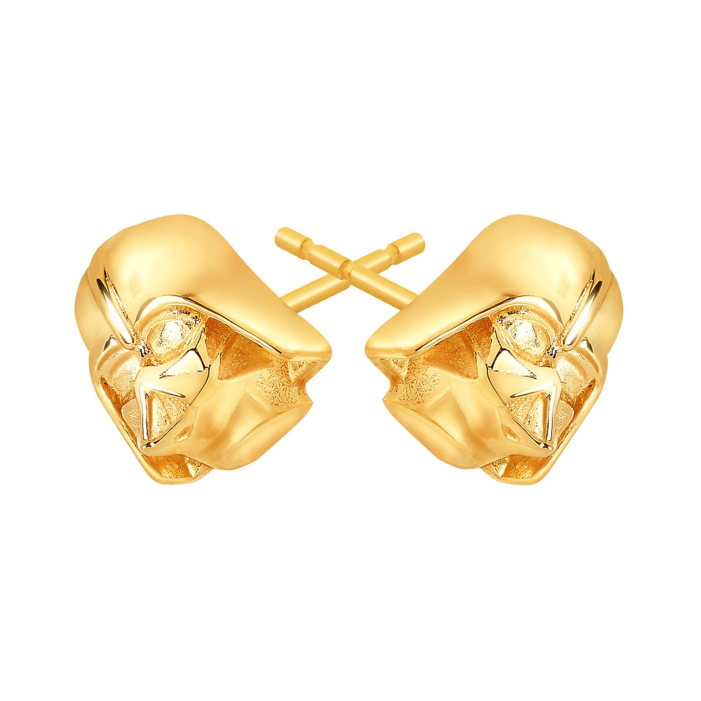 gold rebel wars earrings stud ebay in alliance star itm
