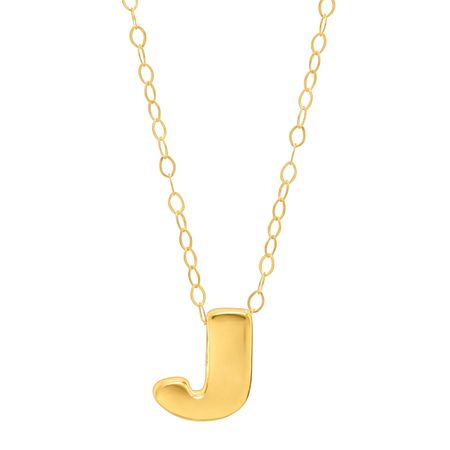 Eternity gold teeny tiny j initial pendant in 10k gold teeny teeny tiny j initial pendant aloadofball Gallery