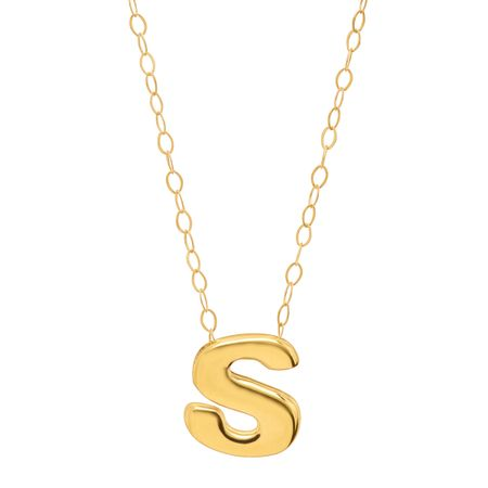Eternity gold teeny tiny s initial pendant in 10k gold teeny teeny tiny s initial pendant aloadofball Choice Image