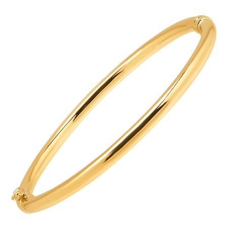 Polished Hinged Bangle