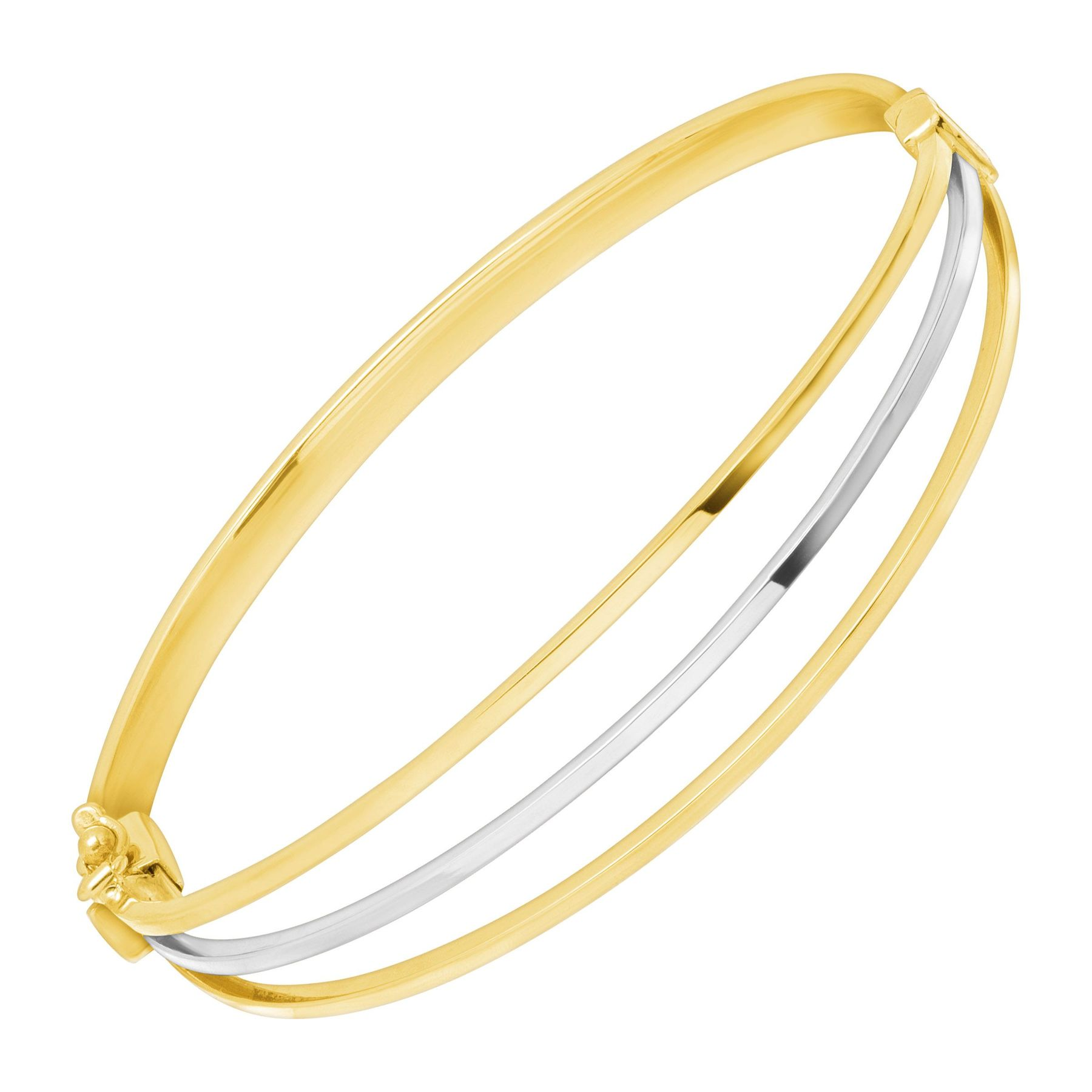 hollow bangles yg plain itm women men bangle shape gold oval yellow bracelet popular
