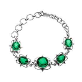 Dark Green Quartz Bracelet