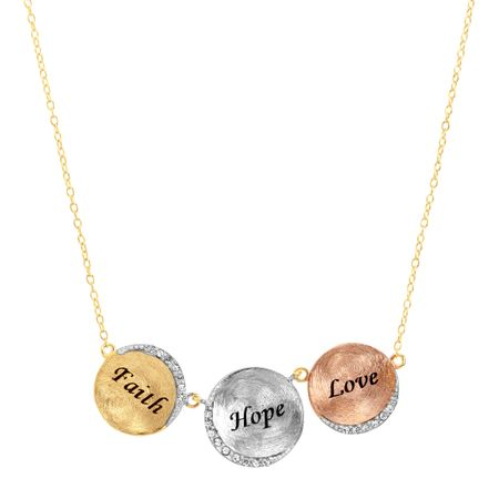 faith love collection the styled hope products necklace