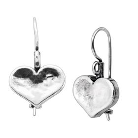 Heart on the Line Earrings