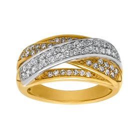 3/4 ct Diamond Banded Ring
